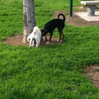 Photo taken at Ella & Friends (Deer Park) Dog Park by Bridget J. on 1/30/2012