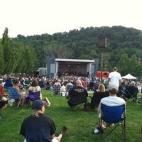 Photo taken at South Park Ampitheater by Crystal A. on 7/28/2012