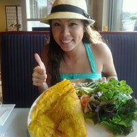 Photo taken at Lotus Vietnamese Cuisine by Thao N. on 4/9/2012