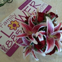 Photo taken at The Family Flower Shoppe by Sara S. on 2/1/2012