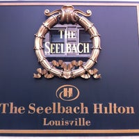 Photo taken at The Seelbach Hilton Louisville by Caroline K. on 6/8/2012