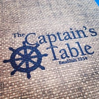 Photo taken at The Captain's Table by Julian N. on 8/21/2012