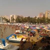 Photo taken at Playa El Salaret / Los Locos by Richard G. on 8/1/2012