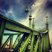 Photo taken at Liberty Bridge by Ambrus D. on 9/11/2012