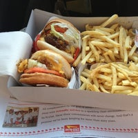 Photo taken at In-N-Out Burger by Barak M. on 5/5/2012