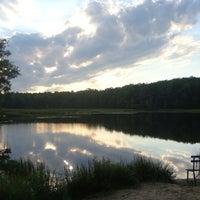 Photo taken at Pocahontas State Park by Kirsten on 8/21/2012