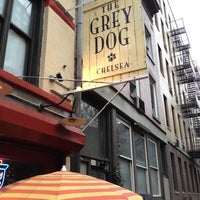 Photo taken at The Grey Dog by Jeff P. on 3/21/2012