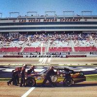Photo taken at Las Vegas Motor Speedway by Pedro F. on 3/10/2012