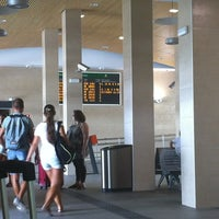 Photo taken at Tarragona Railway Station by Pat H. on 8/22/2012