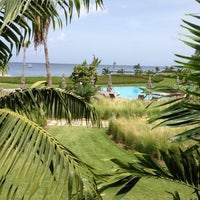 Photo taken at Four Seasons Resort Nevis, West Indies by Nicola C. on 6/13/2012