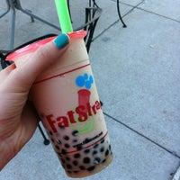Photo taken at Fat Straws Bubble Tea & Juice by Roxann S. on 4/4/2012