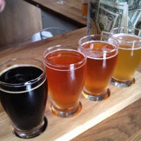 Photo taken at Iron Fist Brewing by angela l. on 9/8/2012