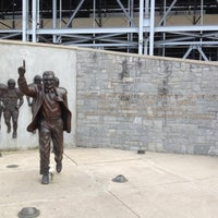 Photo taken at Joe Paterno Statue by Marty D. on 6/12/2012