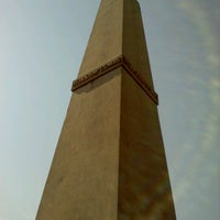 Photo taken at Wells & McComas Monument by Nicholas H. on 7/6/2012