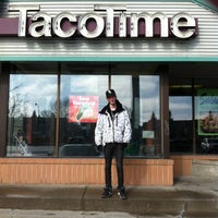 Photo taken at Taco Time by Roz D. on 3/4/2012