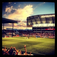Photo taken at Rio Tinto Stadium by Mike S. on 7/28/2012