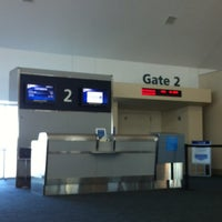Photo taken at Gate 2 by Sylvie M. on 1/7/2012