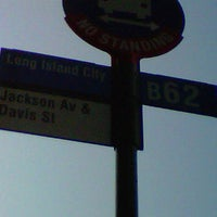 Photo taken at MTA - B62 - Jackson Ave & 23rd St by Luis R. on 10/30/2011