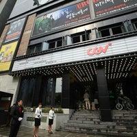 Photo taken at CGV 청담씨네시티 by Siegfrid on 10/9/2011
