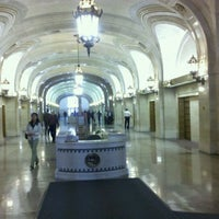 Photo taken at Chicago City Hall by David F. on 9/22/2011