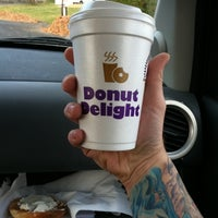 Photo taken at Donut Delight by Bill G. on 11/10/2011