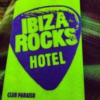 Photo taken at Ibiza Rocks Hotel by Fawzizaidan on 5/22/2012