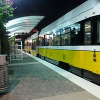 Photo taken at Baylor Medical Center Station (DART Rail) by John U. on 8/25/2012