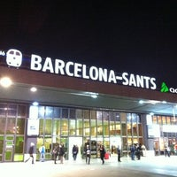 Photo taken at Barcelona Sants Railway Station by José Luis P. on 12/28/2011