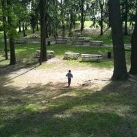 Photo taken at Syosset Woodbury Community Park by Daniela M. on 4/28/2012