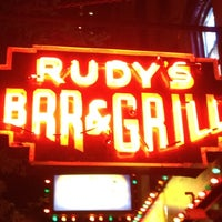 Photo taken at Rudy's Bar & Grill by Mike C. on 4/30/2012