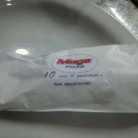Photo taken at Mega Pizza by Carol M. on 1/10/2012