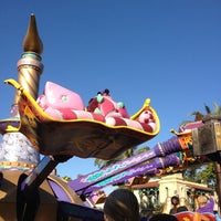Photo taken at The Magic Carpets of Aladdin by Tim H. on 1/16/2012
