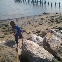Photo taken at Shore Haven bikepath by Kris R. on 8/28/2012