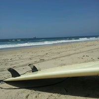 Photo taken at El Porto Beach by Bee M. on 5/15/2012
