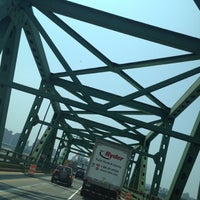 Photo taken at Maurice J. Tobin Memorial Bridge by Keith V. on 7/17/2012