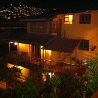 Photo taken at Amaru Hostal by Dani R. on 1/10/2012