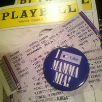 Photo taken at Broadhurst Theatre by Kimberly T. on 9/4/2011