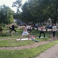Photo taken at West Clinton Labyrinth by David J. on 8/27/2011
