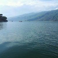Photo taken at Phewa Tal / Fewa Lake by Roman P. on 4/19/2012