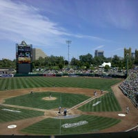 Photo taken at Raley Field by Rebecca on 3/19/2011