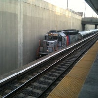 Photo taken at PATCO: Haddonfield Station by Justin N. on 1/24/2011
