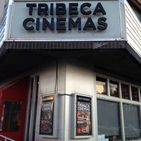 Photo taken at Tribeca Cinemas by Dave B. on 2/9/2012