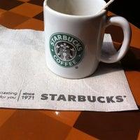 Photo taken at Starbucks Coffee by Ilaria @ilarysgrill B. on 3/2/2012