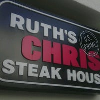 Photo taken at Ruth's Chris Steak House - Wilmington, NC by John S. on 8/13/2012