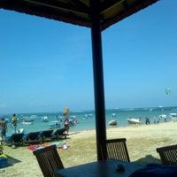Photo taken at Tanjung Benoa Beach by Yodi P. on 7/5/2012