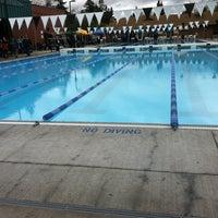 Photo taken at Shute Park Aquatic & Recreation Center (SHARC) by Ben M. on 7/20/2011