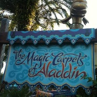 Photo taken at The Magic Carpets of Aladdin by Laura Gabriella H. on 10/21/2011