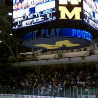 Photo taken at Yost Ice Arena by Will A. on 10/8/2011