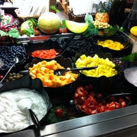 Photo taken at AJ's Fine Foods by DestinationFamilyVacation on 8/12/2011