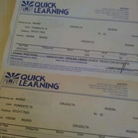 Photo taken at Quick Learning by Ingrid C. on 9/7/2012